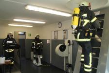 Atemschutzstrecke wieder im Betrieb