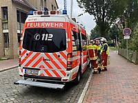 Gasaustritt in Itzehoe