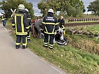 Unfall am Bahnübergang in Landscheide