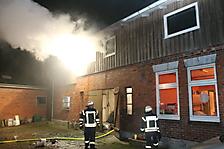 Zimmerbrand in Vaale