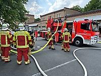 Feuer in Kaffeerösterei in Itzehoe