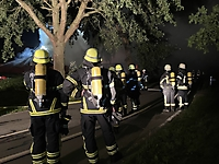 Brennt Resthof in Brokdorf