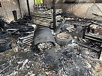 Garagenbrand in Wewelsfleth